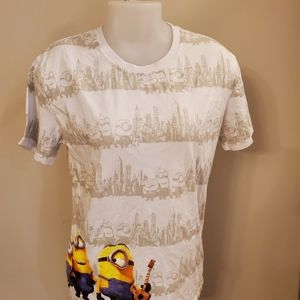 Minions Tee Shirt Ladies Small